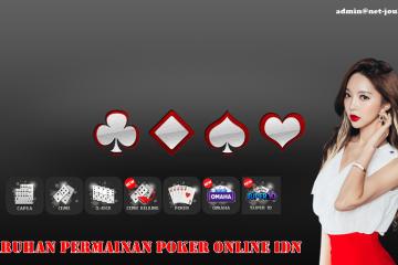Taruhan Permainan Poker Online IDN